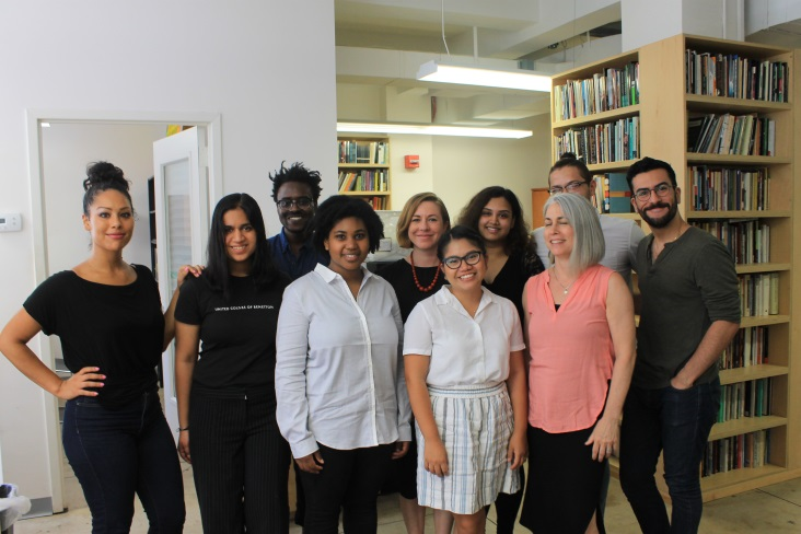 Academcy American Poets and staff